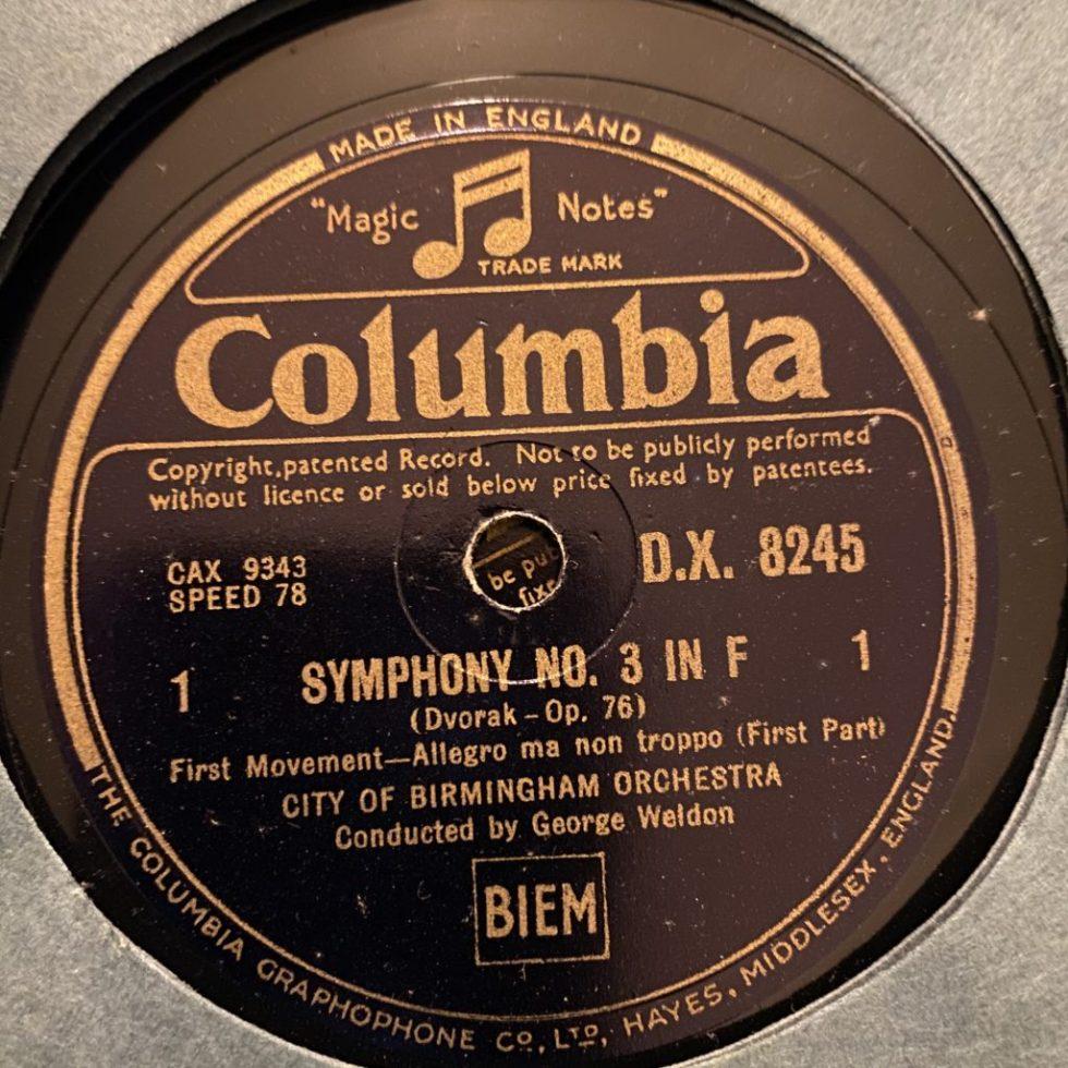 DX 8245/9 Dvorak Symphony No. 3