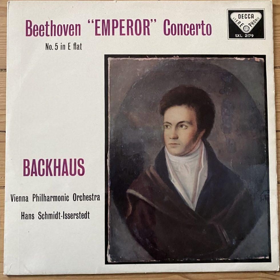 "SXL 2179 Beethoven ""Emperor"" Concerto / Backhaus / Isserstedt W/B"