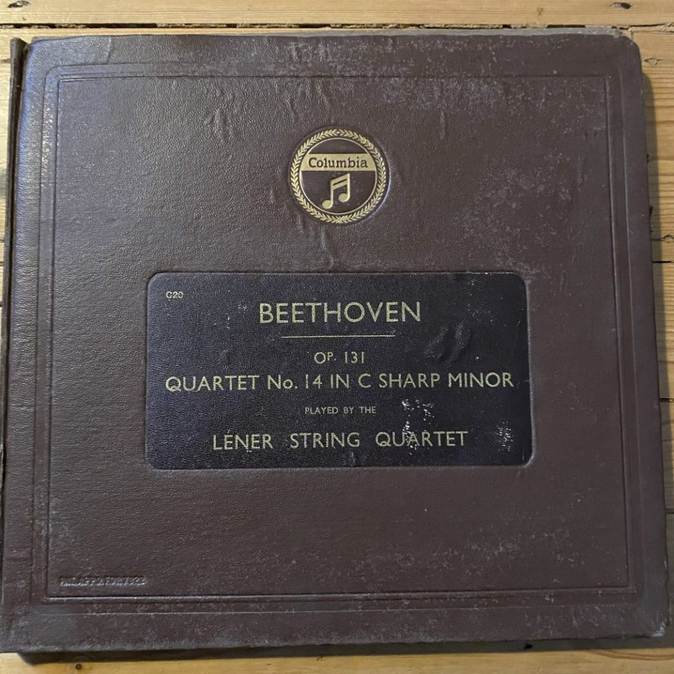 LX 294/98 Beethoven Quartet No. 14 in C # Minor /
