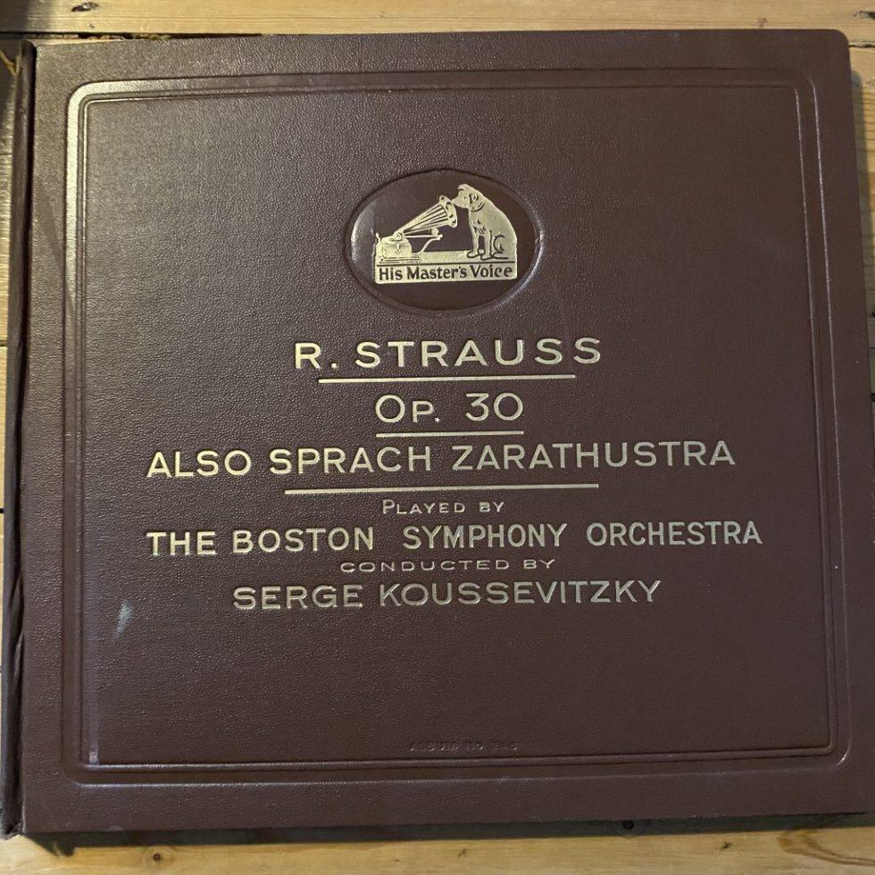 DBS 8003/07 Strauss Also Sprach Zarathustra / Koussevitsky