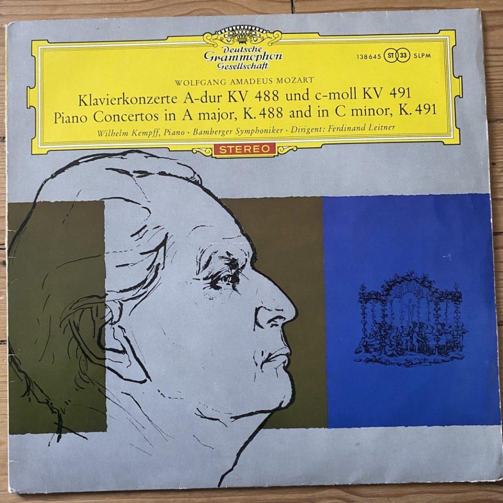 138 645 Mozart Piano Concertos 23 & 24 / Kempff / Leitner TULIP