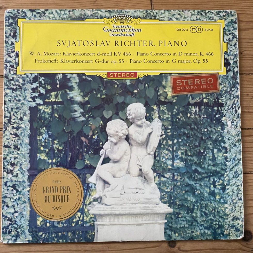 138 8075 Mozart / Prokofieff Piano Concertos / Richter