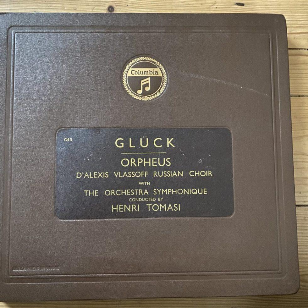 LX 8186/93 Gluck Orpheus / Alice Raveau