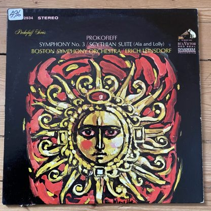LSC 2934 Prokofieff Symphony No. 3 / Scythian Suite