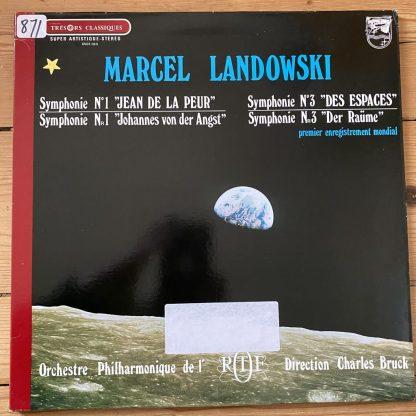 6504 060 Landowski Symphonies 1 & 3 / Bruch / ORTF