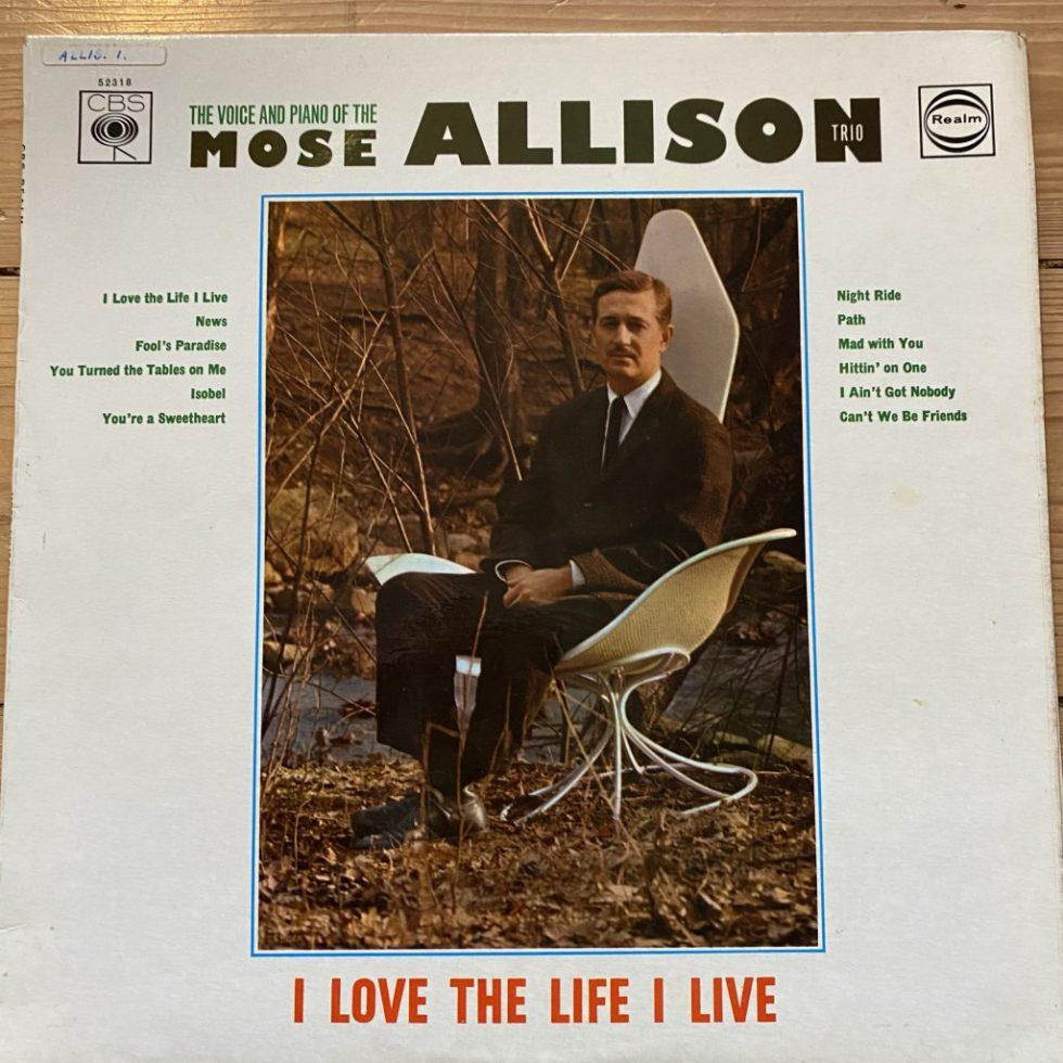 RM 52318 Mose Allison Trio - I Love The Life I Live