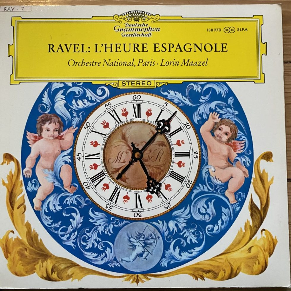 138 970 Ravel l'Heure Espagnole / Maazel