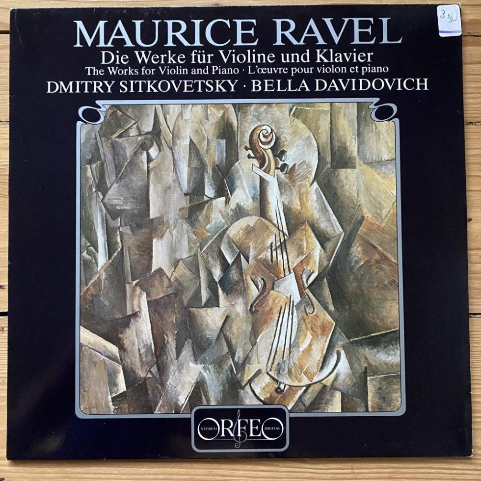 S 108 841 A Ravel The Works for Violin & Piano / Sitkovetsky / Davidovich