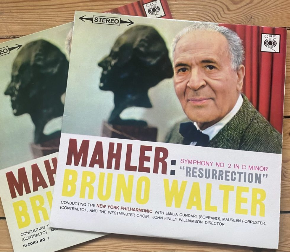 SBRG 72182/83 Mahler Symphony No. 5 / Bernstein 2 LP set