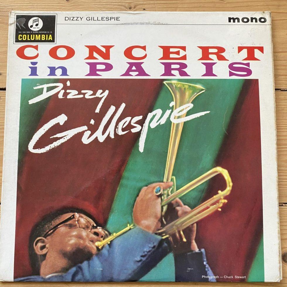 33SX 1574 Dizzy Gillespie - Concert In Paris
