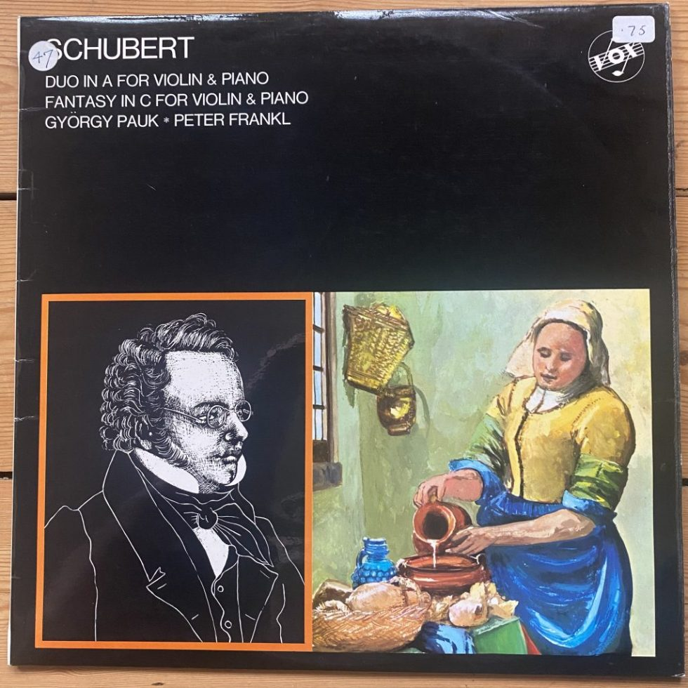 STGBY 611 Schubert Duo In A / Fantasy In C For Violin & Piano