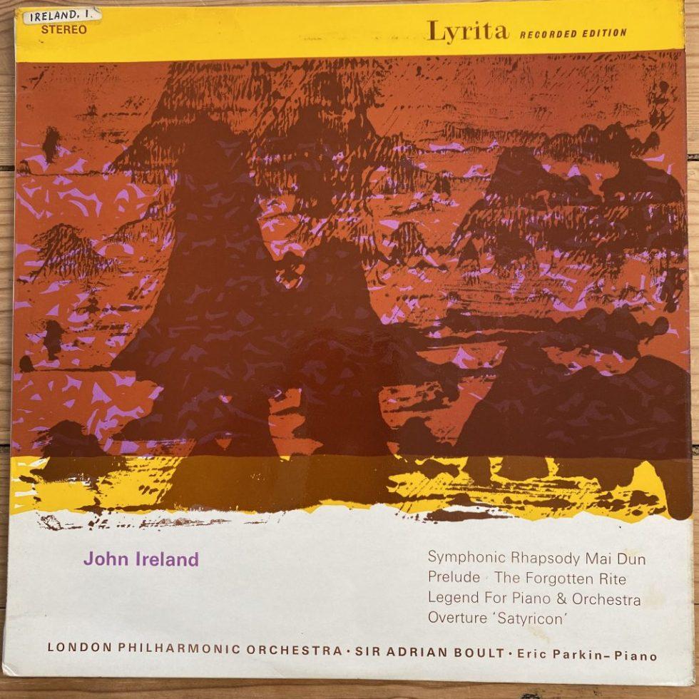 SRCS 32 Ireland Symphonic Rhapsody Mai Dun etc. / Parkin / Boult / LPO grvd