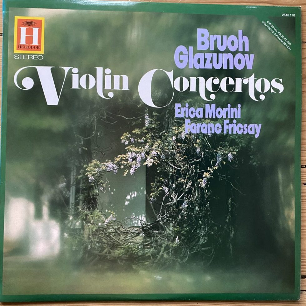 2548 170 Bruch / Glazunov Violin Concertos