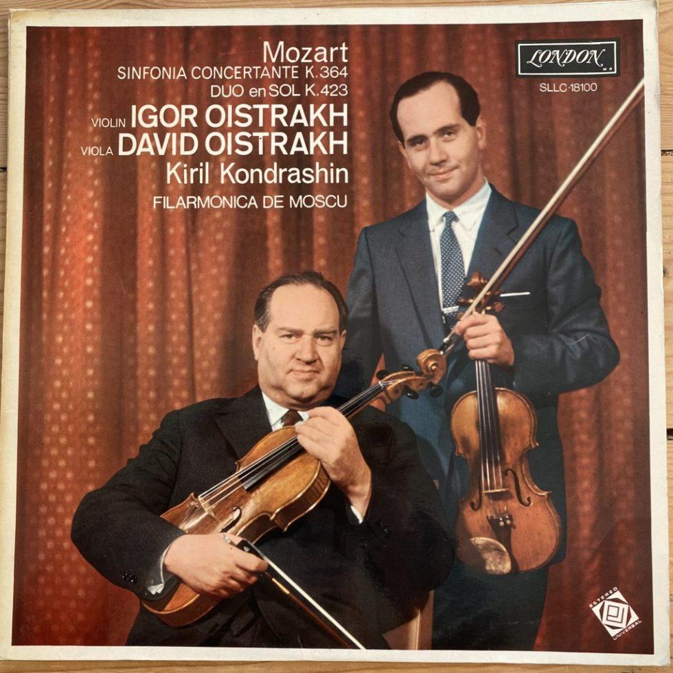 SXL 6088 Mozart Sinfonia Concertante / Duo In G