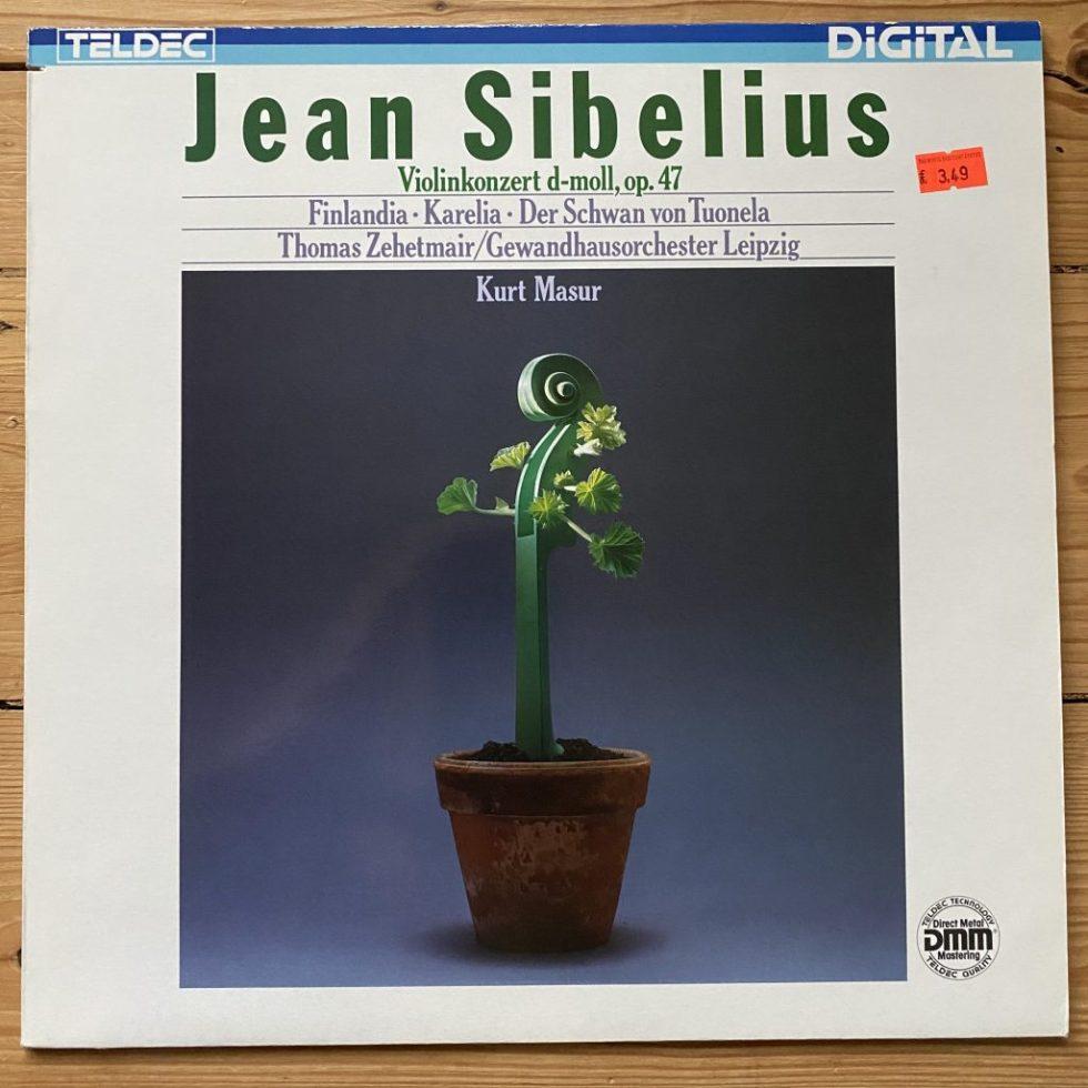 6.43241 Sibelius Violin Concerto, Finlandia, etc. / Thomas Zehetmair / Mazur