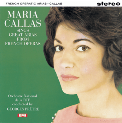 SAX 2410 Maria Callas Great Arias from French Operas