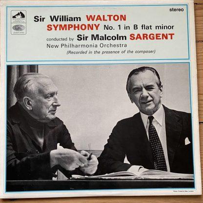 ASD 2299 Walton Symphony No. 1 / Malcolm Sargen