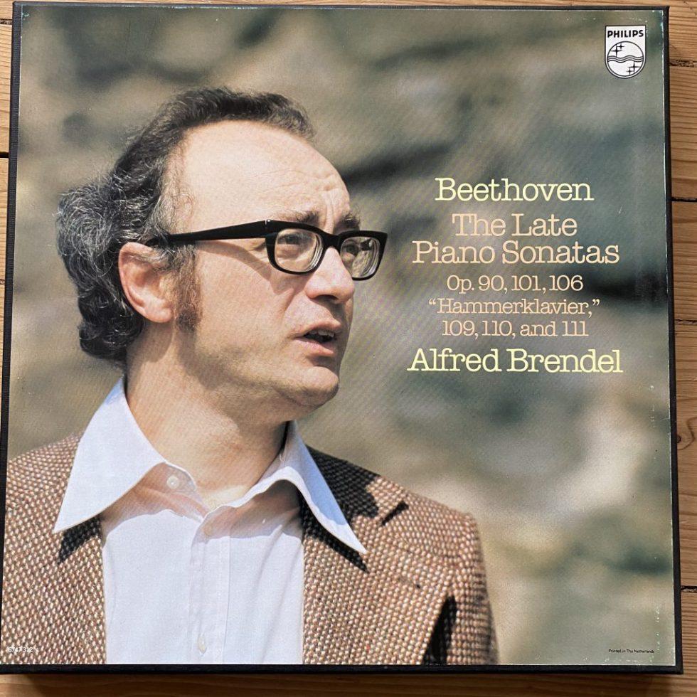 6747 312 Beethoven The Late Piano Sonatas Alfred Brendel 3LP Box
