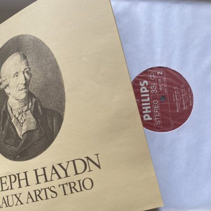 6768 077 Haydn The Piano Trios / Beaux Arts Trio 14 LP box set