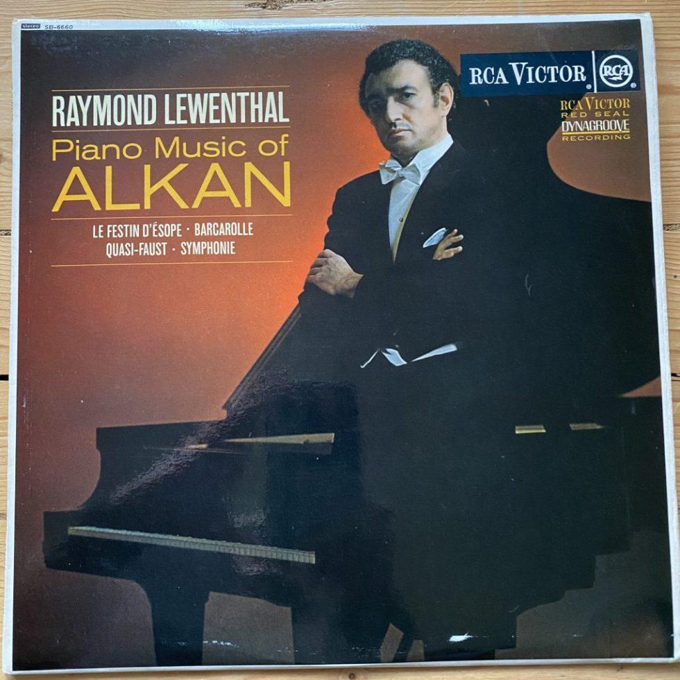 SB 6660 Piano Music of Alkan / Raymond Lewenthal O/S