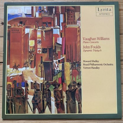 SRCS 130 Williams Piano Concertos Foulds / Shelley / Handley / RPO