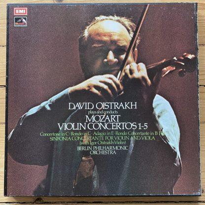 CBS M13 42055 Mozart Piano Concertos / Murray Perahia 13 LP box