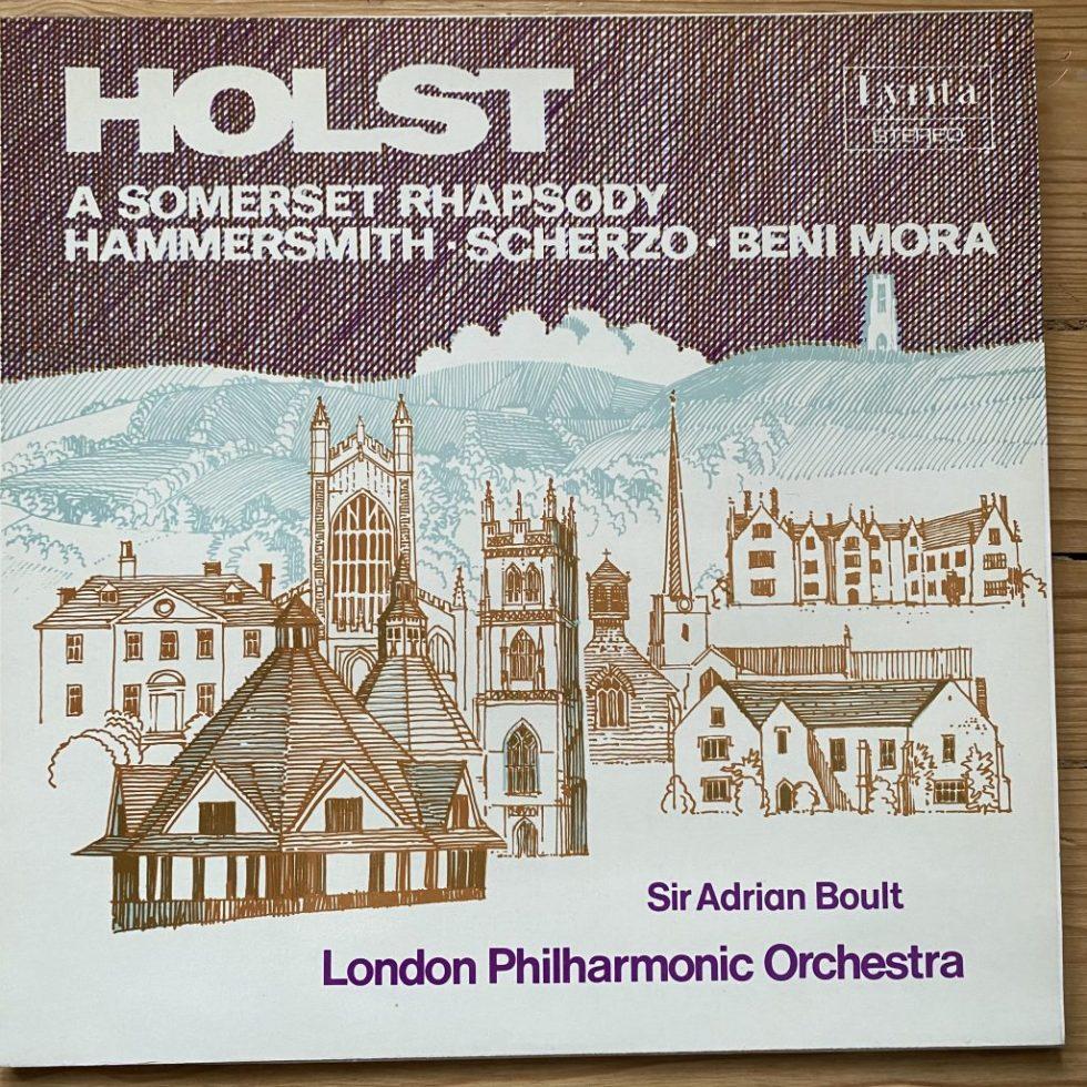 SRCS 56 Holst A Somerset Rhapsody etc / Boult / LPO