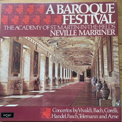 D69D 3 A Baroque Festival / Marriner / ASMF