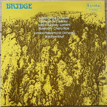 SRCS 73 Frank Bridge Suite For String Orchestra / Sir Roger de Coverley etc. / Boult LPO
