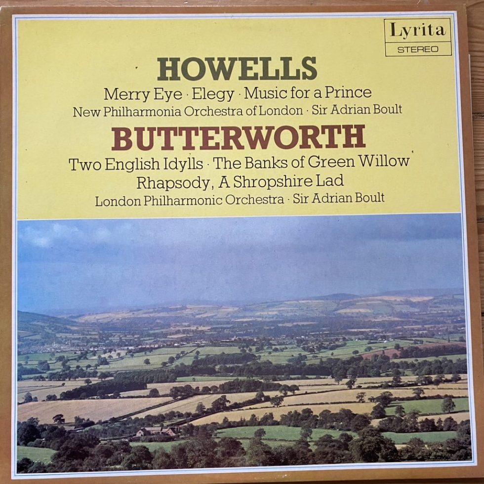 SRCS 69 Howells Merry Eye etc / Butterworth Two English Idylls etc / Boult