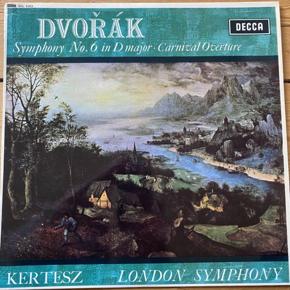 SXL 6253 Dvorak Symphony No. 6, Carnival Overture / Kertesz