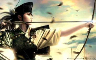 fantasy art mario wibisono arrows legend of the five rings_www.wallpaperhi.com_6
