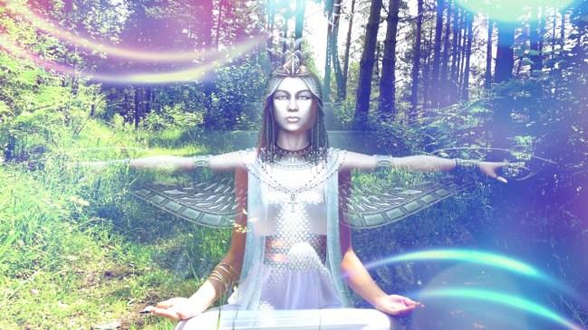 Supports vidéo en français des méditations du vortex de la déesse et pour le retour de la déesse !