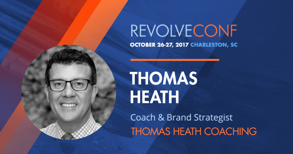 Revolve Conference 2017 Speaker Spotlight - Thomas Heath