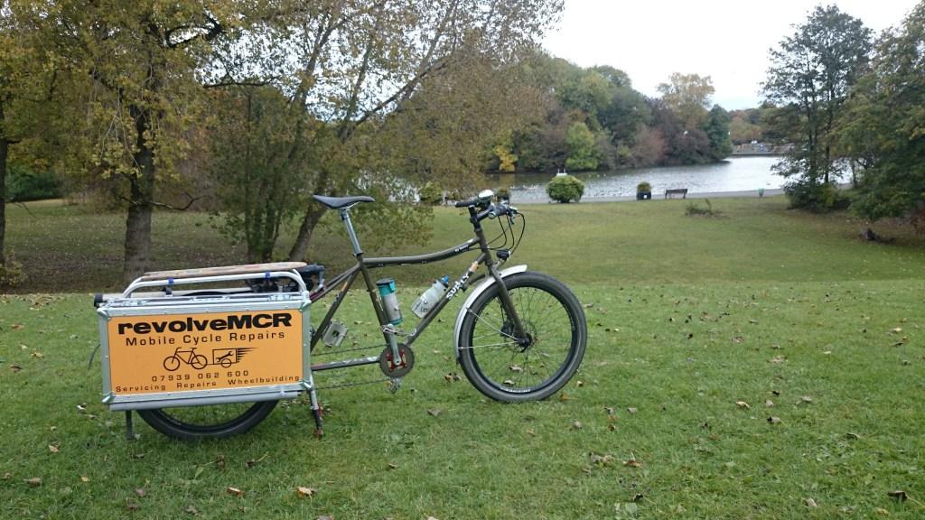 revolveMCR cargo bike