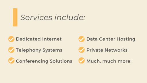 Dedicated Internet - Telephony Systems - Conferencing Solutions - Data Center Hosting - Private Networks with Revolve Technologies Agent Partner Program