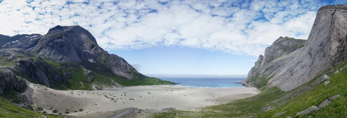 Bunesstranda, Lofoten, Northern Norway