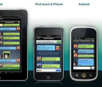 SMS Service on iPod,iPhone and Android by AT&T via textPlus