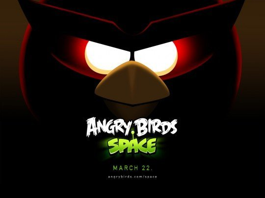 Angry Birds Space - Now Birds Fly in Space