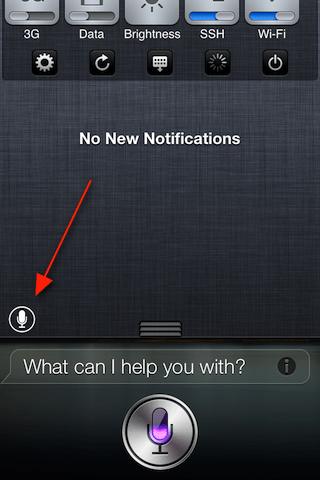 How to Add Shortcut for Siri in Notification Center using SiriLaunch Jailbreak Tweak