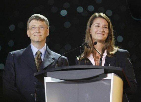 Melinda Gates - wife simplicity of the world's richest billionaires
