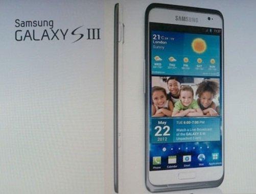 Galaxy S III image leaks on Net