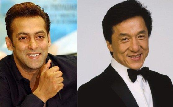 Salman Khan With Jackie Chan
