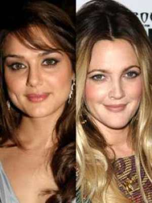 Five Bollywood Actresses Look Exactly Like Hollywood Actresses 3