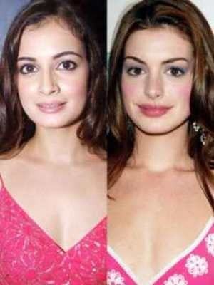 Five Bollywood Actresses Look Exactly Like Hollywood Actresses 4