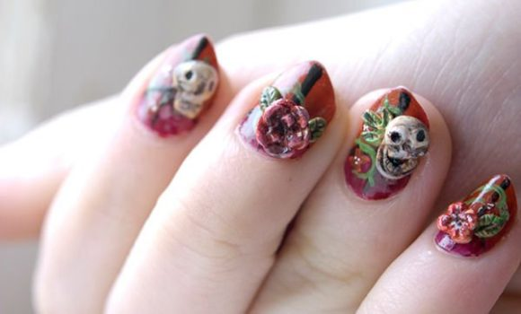 Nail Art Basically Is The Painting Decoration Of Fingernails In Order To Make Hand And Nails Attractive Funky This Monly Famous