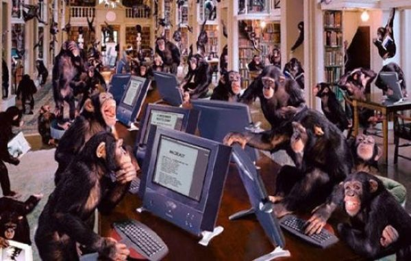 Monkeys-typing-Shakespeare