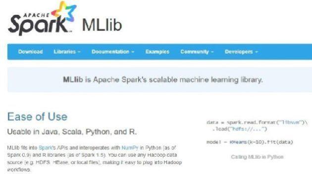 Spark MLlib