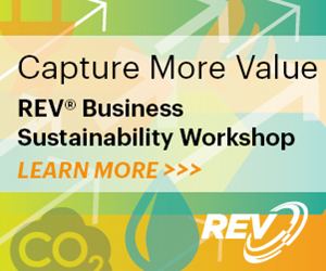 Press Release – REV® Launches New Business Sustainability Workshops in California