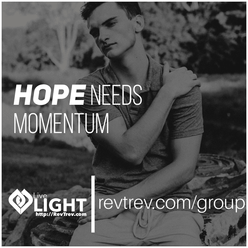 Hope needs momentum